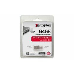 USB memorija Kingston 64GB DataTraveler microDuo 3 Type-C