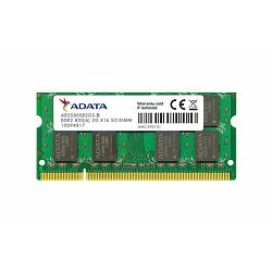 Memorija za prijenosna računala Adata DDR2 2GB 800MHz, bulk