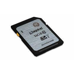Memorijska kartica Kingston SD 16GB HC Class10 UHS-I
