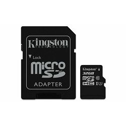Memorijska kartica  Kingston SD MICRO 32GB Class 10 UHS-I +