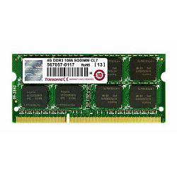 Memorija za prijenosna računala Transcend DDR3 4GB 1066MHz,