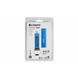 MEM UFD 64GB DT2000 Encrypted KIN