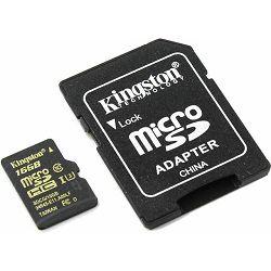 Memorijska kartica  Kingston SD MICRO 16GB HC  UHS-I U3