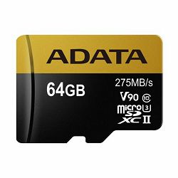 Memorijska kartica Adata SD MICRO 64GB HC Class10 UHS-I U3