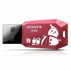 USB memorija Adata 16GB DashDrive UV100F Red AD - Božićni