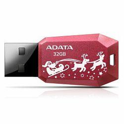 USB memorija Adata 32GB DashDrive UV100F Red AD - Božićni