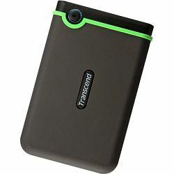 Vanjski tvrdi disk 500GB StoreJet 25M3S Transcend Grey