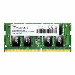 Adata Memorija SO-DIMM DDR4 8GB 2666MHz za prijenosna računala