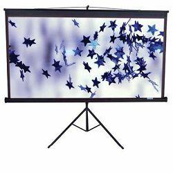 EliteScreens projekcijsko platno sa stalkom 203x203cm crno