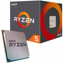AMD CPU Desktop Ryzen 5 6C/12T 3600X (4.4GHz,36MB,95W,AM4), MPK with Wraith Spire cooler