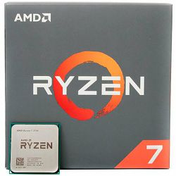 AMD CPU Desktop Ryzen 7 8C/16T 3700X (4.4GHz,36MB,65W,AM4) box with Wraith Prism cooler