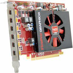 AMD FirePro W600 2GB GDDR5, 6mDP, PCIe 3.0