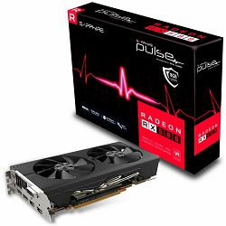 SAPPHIRE Video Card AMD Radeon PULSE RX 580 8G GDDR5 DUAL HDMI / DVI-D / DUAL DP OC W/BP (UEFI)