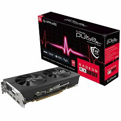 SAPPHIRE Video Card AMD Radeon PULSE RX 580 4G GDDR5 DUAL HDMI / DVI-D / DUAL DP OC W/BP (UEFI)