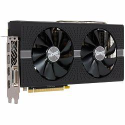 SAPPHIRE Video Card AMD Radeon NITRO+ RX 580 8G GDDR5 DUAL HDMI / DVI-D / DUAL DP W/BP (UEFI) SPECIAL EDITION