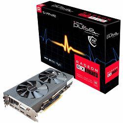 SAPPHIRE PULSE RADEON RX 570 4G GDDR5 DUAL HDMI / DUAL DP OC W/BP (UEFI) 1284MHz / 1750MHz 256-bit