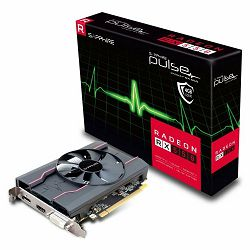 SAPPHIRE Video Card AMD RADEON PULSE RX 550 4G GDDR5 HDMI / DVI-I / DP LP OC (UEFI)