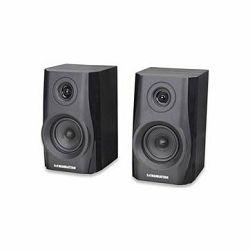 MANHATTAN 2900BT Hi-Fi Speaker System,  2-way Bluetooth Hi-Fi, 2x 3W, Black