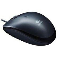 Logitech M100 optički miš, USB, crni (910-005003)