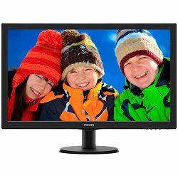 PHILIPS Monitor LED V-Line 273V5LHAB (27, TN, 16.9, 1920x1080, 5ms, 10M:1, 300 cd/m2, VGA, DVI, HDMI, Speakers, VESA) Black, 2y