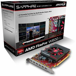 ATI Video Card AMD FIREPRO W600 2G GDDR5 PCI-E EYEFINITY 6 EDITION, FULL,  100-505968
