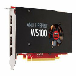 AMD FirePro W5100 4GB GDDR5 Quad DP PCI-E