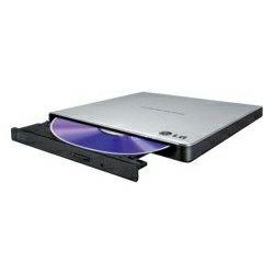 LG DVD+/-RW DL 8×, vanjski snimač USB2.0 Slim, crni (GP57EB40)
