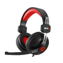 Sharkoon Rush ER2 stereo slušalice sa mikrofonom, crno-crvene