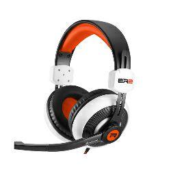 Sharkoon Rush ER2 stereo slušalice sa mikrofonom, bijelo-narančaste