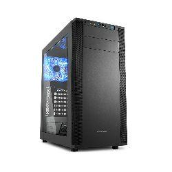 Sharkoon M25-W Midi Tower ATX kućište, integrirana 7.1 zvučna kartica, bez napajanja, crno