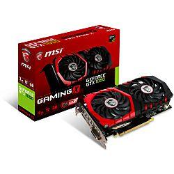 MSI GeForce GTX 1050 GAMING X 2G, 2GB GDDR5/128-bit, PCIe 3.0, DL DVI-D/HDMI/DP, Torx Fan