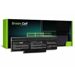 Green Cell baterija 6600 mAh, 10.8V (11.1V) BTY-M66 za Asus A9/ S9/ S96/ Z62/ Z9/ Z94/ Z96 PC CLUB EnPower ENP 630 COMPAL FL90 COMPAL FL92 (AS14)