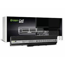 Green Cell PRO (AS02PRO) baterija 5200 mAh, 10.8V (11.1V)  A32-K52 za Asus K52 K52J K52F K52JC K52JR K52N X52 X52J A52 A52F