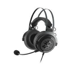 Sharkoon Skiller SGH3 stereo igraće slušalice sa mikrofonom, SB1 zvučna kartica USB, crne