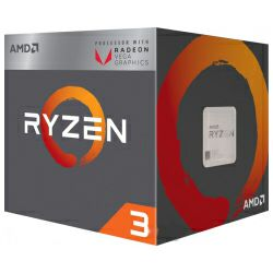 AMD Ryzen 3 2200G (3.50/3.70GHz), Socket AM4, 4MB cache, 65W, sa hladnjakom