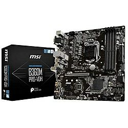 MSI MB B360M PRO-VDH, S.1151, B360, DDR4/2666, PCIe, SATA3, G-LAN, VGA/DVI-D/HDMI, USB3.1, 8ch., mATX