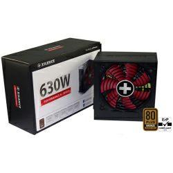 Xilence 630W Performance A+, ATX 2.4 80+ BRONZE, aktivan PFC, 2×PCIe, 6×SATA, 20+4-pina, 120mm ventilator, crno