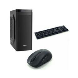 CRATOS OFFICE v2 MT 400W PC - Intel i3-8100, 4GB DDR4, 240GB SSD, Intel UHD, FreeDOS + tipkovnica/miš