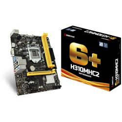 Biostar MB H310MHC2, S.1151, iH310, DDR4/2666, PCIe, VGA/HDMI, SATA3, G-LAN, USB3.1, 8ch., mATX