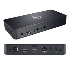Dell Dock D3100 USB 3.0 Ultra HD Triple Video Docking Station