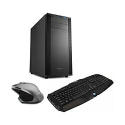 Cratos WIN v1 MT - Pentium CPU, H310M, S.1151, 4GB RAM, 1TB HDD, Intel UHD, DVDRW, WIN 10 PRO + tipkovnica/miš