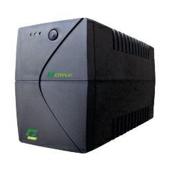 Elsist UPS Home 1150VA/690W, Line-Interactive, noise filtering, overvoltage/undervoltage/overload/shortcircuit protection