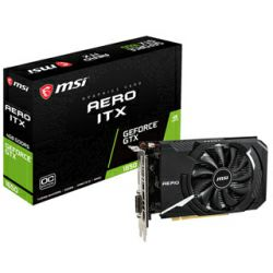 MSI GeForce GTX 1650 AERO ITX 4G OC, 4GB GDDR5/128-bit, DL-DVI-D/DP/HDMI