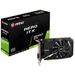 MSI GeForce GTX 1650 AERO ITX 4G OC, 4GB GDDR5/128-bit, DL-DVI-D/DP/HDMI