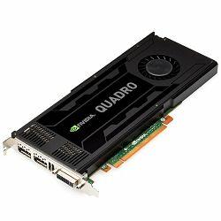 VC NVIDIA Quadro K4000, 3GB GDDR5/192bit, DVI-I/DP/DP/3pin Stereo