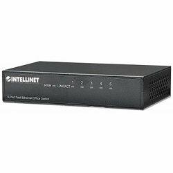 5-Port Fast Ethernet Office Switch, Desktop Size, Metal, IEEE 802.3az (Energy Efficient Ethernet)