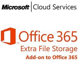 MICROSOFT Office 365 Extra File Storage, VL Subs., Cloud, Single Language, 1 user, 1 year