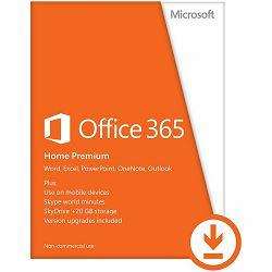 Office 365 Home 32/64 AllLngSub PKLic 1YROnline Eurozone C2R NR