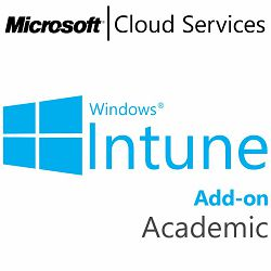 MICROSOFT Intune Add-On, Academic, VL Subs., Cloud, All Languages, 1 user, 1 month