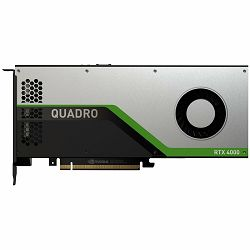 NVIDIA Video Card Quadro RTX4000 GDDR6 8GB/256bit, 2304 CUDA® Cores, 288 Tensor Cores, 36 RT Cores, PCI-E 3.0 x16, 3xDP, VirtualLink(USB Type-C), Cooler, Single Slot (DP to DVI Adapter, DP to HDMI Ada